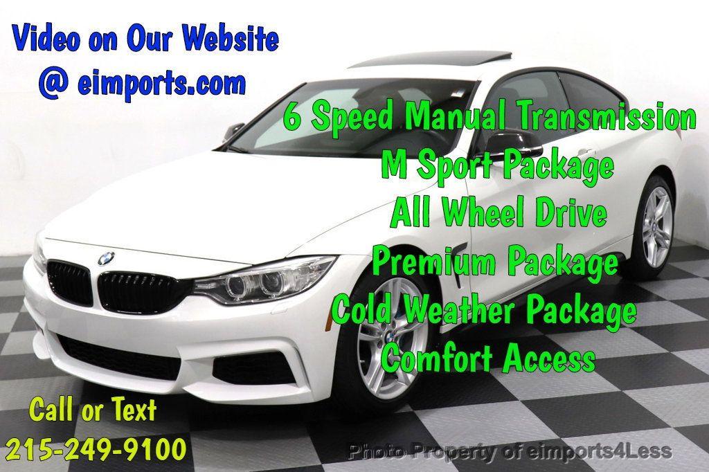 2015 BMW 4 Series CERTIFIED 435i xDrive M SPORT AWD 6 SPEED MANUAL - 18467685 - 0