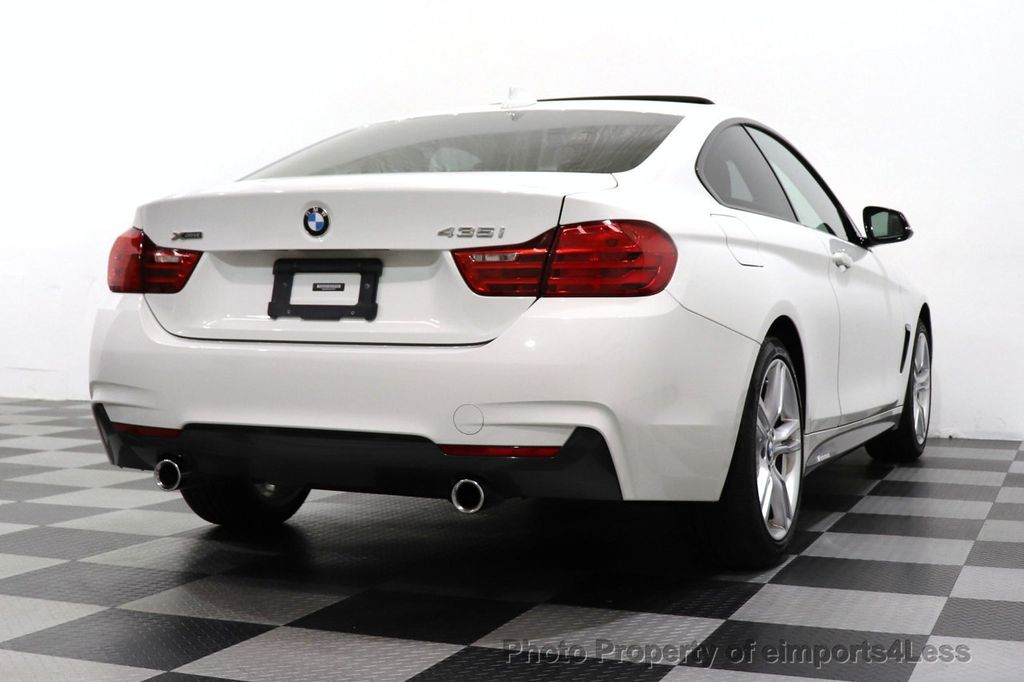 2015 BMW 4 Series CERTIFIED 435i xDrive M SPORT AWD 6 SPEED MANUAL - 18467685 - 31
