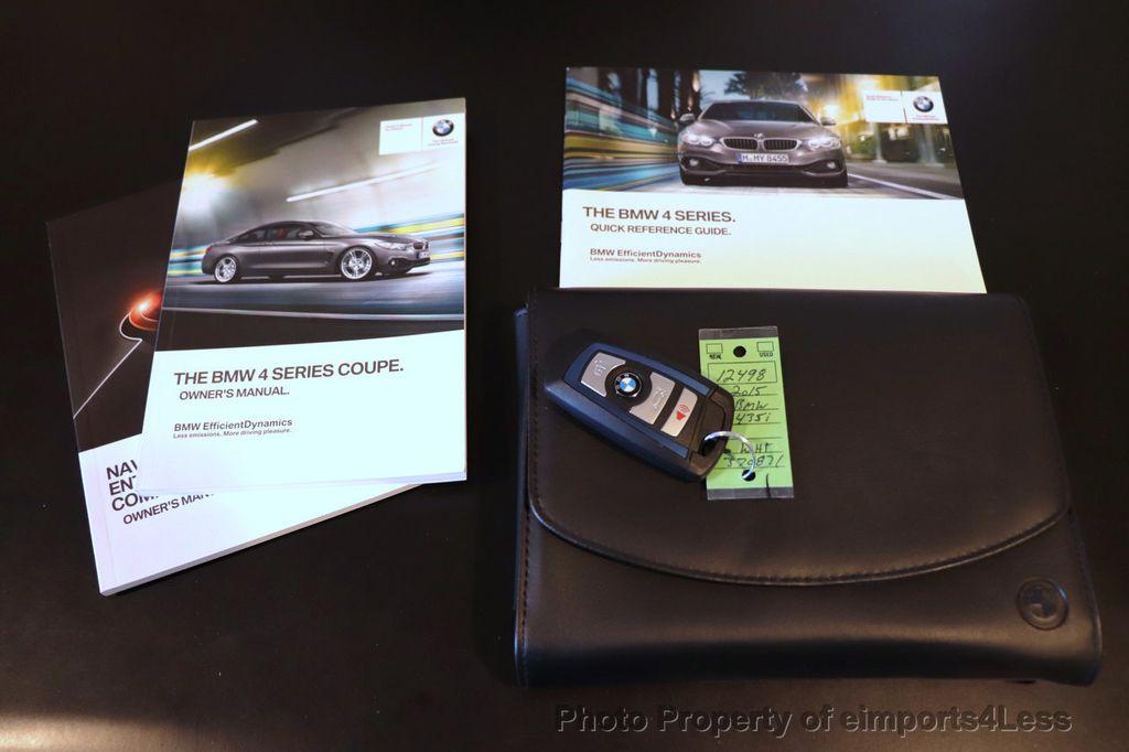 2015 BMW 4 Series CERTIFIED 435i xDrive M SPORT AWD 6 SPEED MANUAL - 18467685 - 38