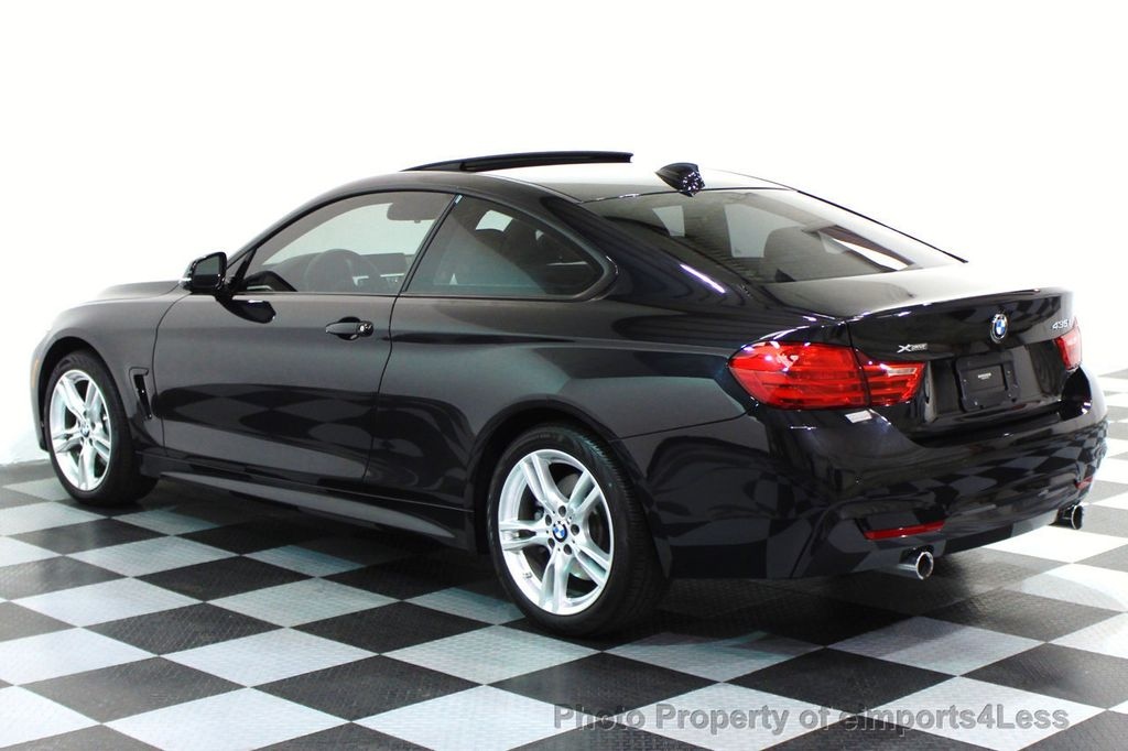 2015 used bmw 4 series certified 435i xdrive m sport coupe. Black Bedroom Furniture Sets. Home Design Ideas