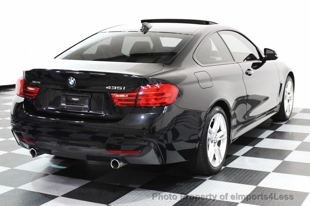 2015 BMW 4 Series CERTIFIED 435i XDRIVE M SPORT COUPE NAVIGATION