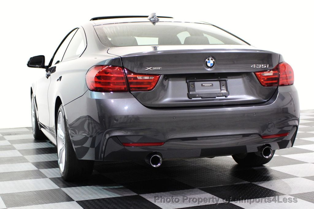 2015 BMW 4 Series CERTIFIED 435i xDRIVE M Sport LED ASSIST TECH NAV - 16732299 - 45