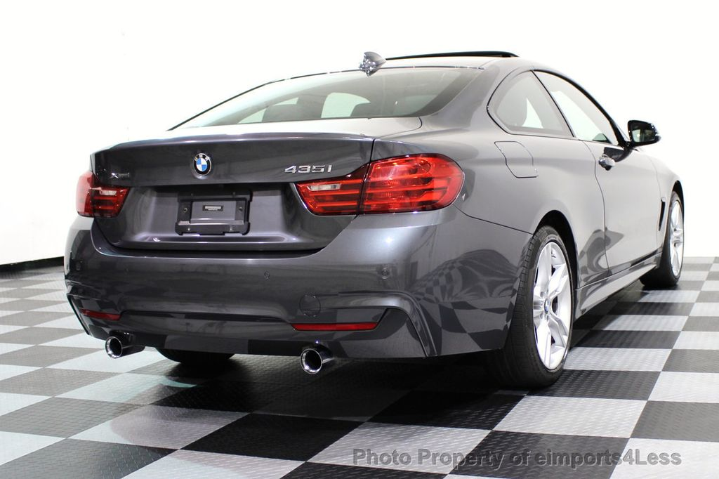 2015 BMW 4 Series CERTIFIED 435i xDRIVE M Sport LED ASSIST TECH NAV - 16732299 - 46