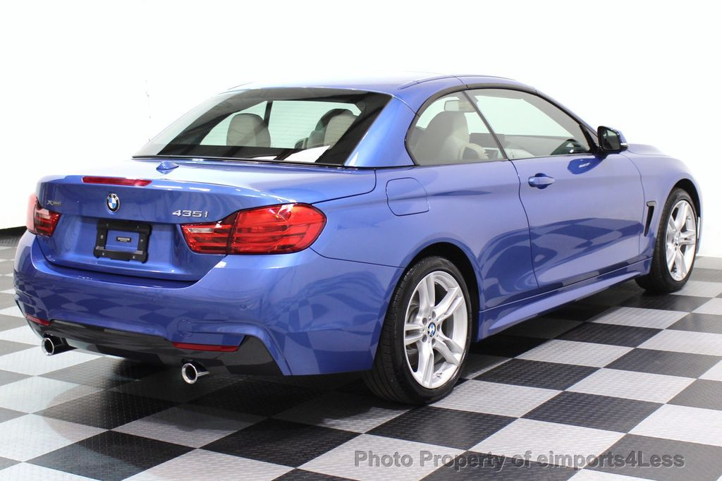 2015 BMW 4 Series CERTIFIED 435i xDRIVE M Sport Package AWD CAMERA NAVI - 17484515 - 18