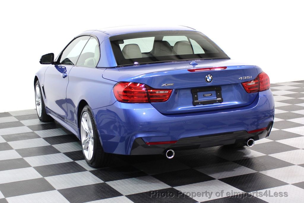 2015 BMW 4 Series CERTIFIED 435i xDRIVE M Sport Package AWD CAMERA NAVI - 17484515 - 2