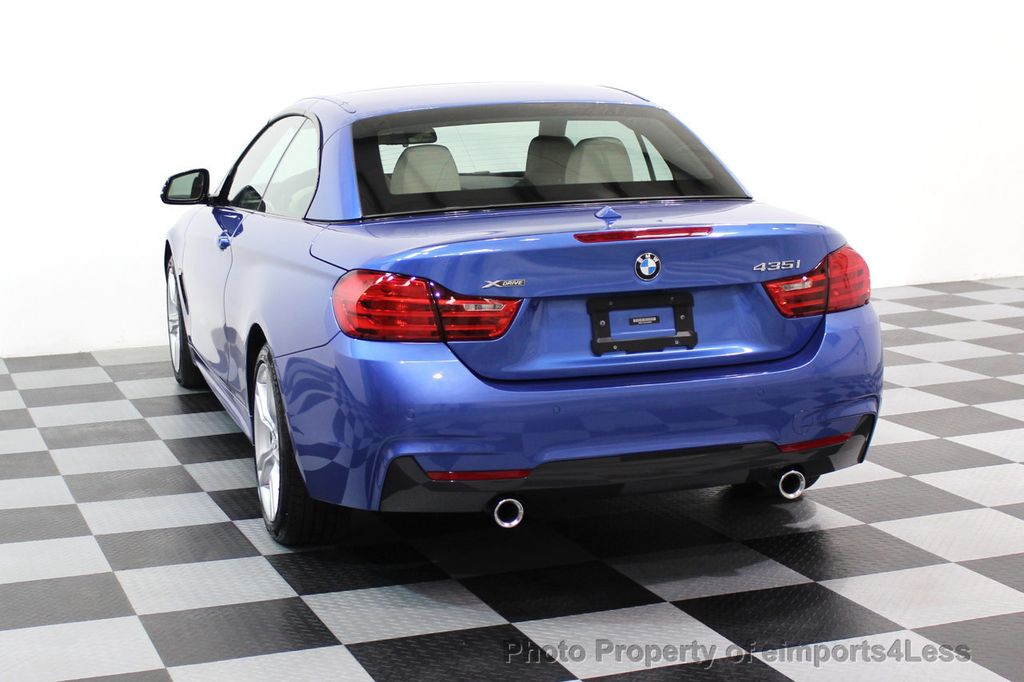 2015 BMW 4 Series CERTIFIED 435i xDRIVE M Sport Package AWD CAMERA NAVI - 17484515 - 29