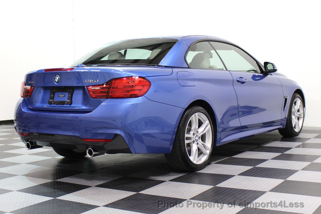2015 BMW 4 Series CERTIFIED 435i xDRIVE M Sport Package AWD CAMERA NAVI - 17484515 - 45