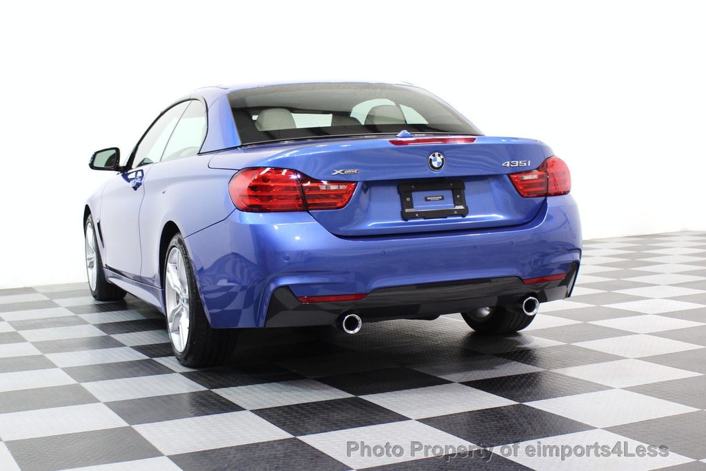 2015 BMW 4 Series CERTIFIED 435i xDRIVE M Sport Package AWD CAMERA NAVI - 17484515 - 47