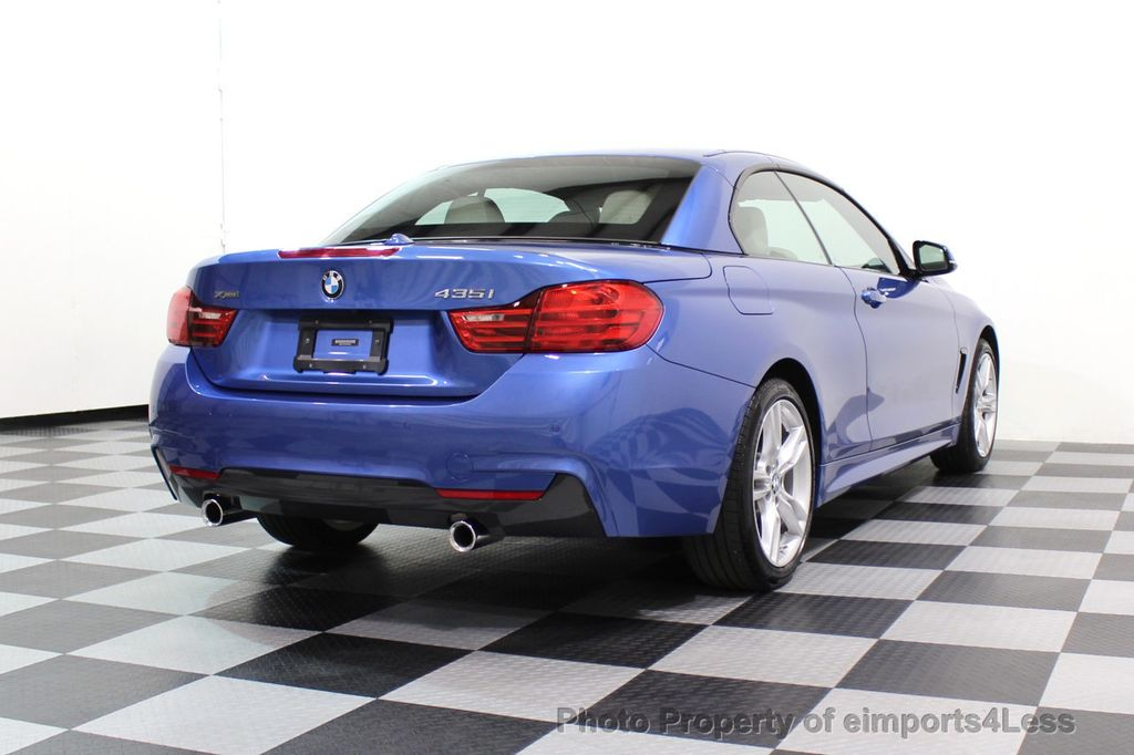 2015 BMW 4 Series CERTIFIED 435i xDRIVE M Sport Package AWD CAMERA NAVI - 17484515 - 48