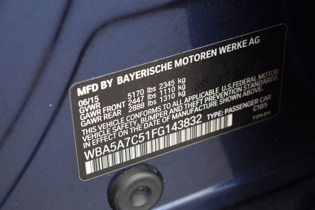 2015 BMW 5 Series 528i xDrive - 18326699 - 58