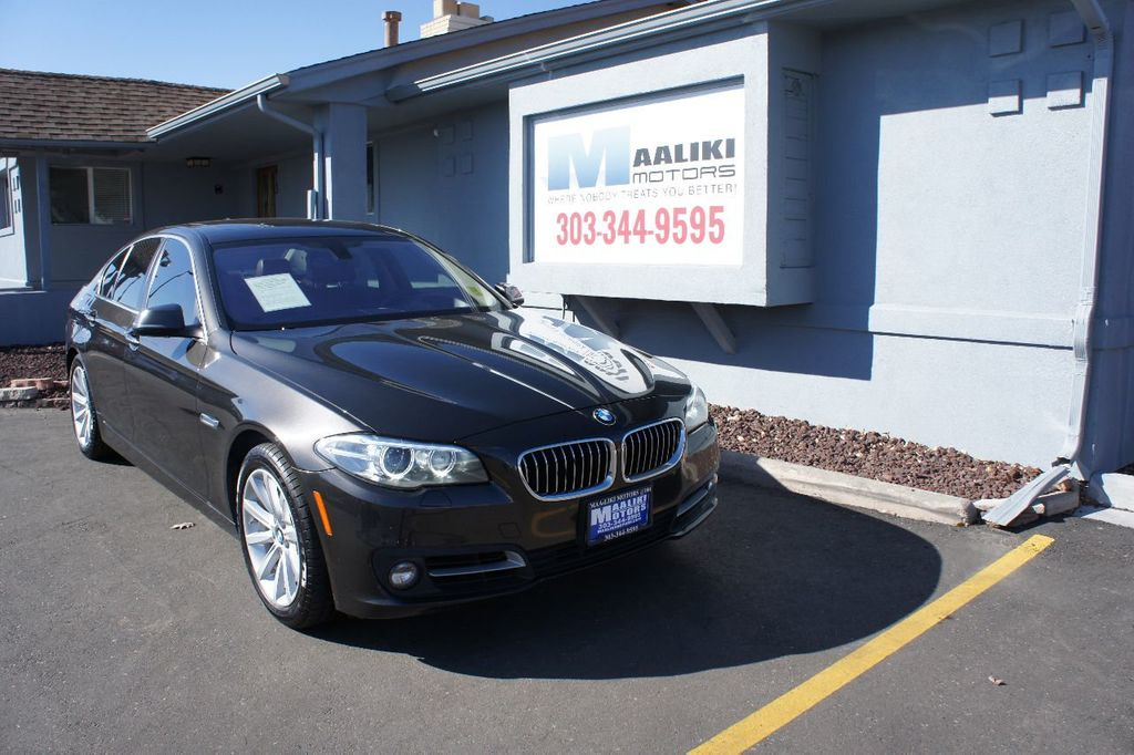 2015 BMW 5 Series 535i xDrive - 17432551 - 0