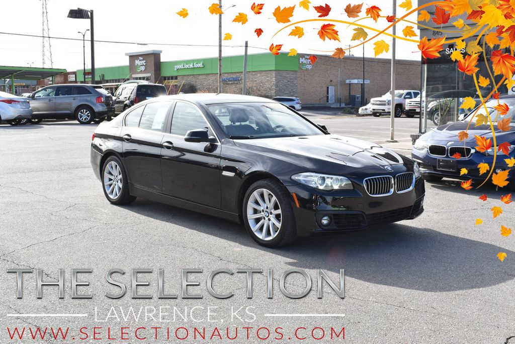 2015 BMW 5 Series 535i xDrive w/ Cold Weather & Premium Package. - 17625393 - 0