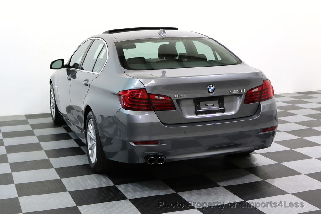 2015 BMW 5 Series CERTIFIED 528i xDRIVE AWD CAMERA NAVIGATION - 17570179 - 14