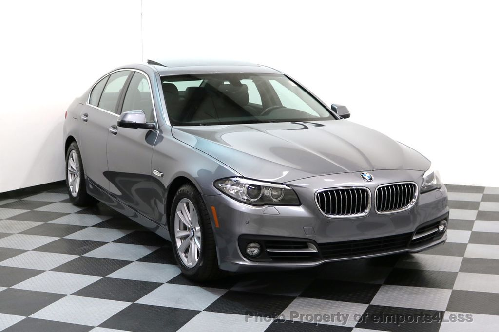 2015 BMW 5 Series CERTIFIED 528i xDRIVE AWD CAMERA NAVIGATION - 17570179 - 1