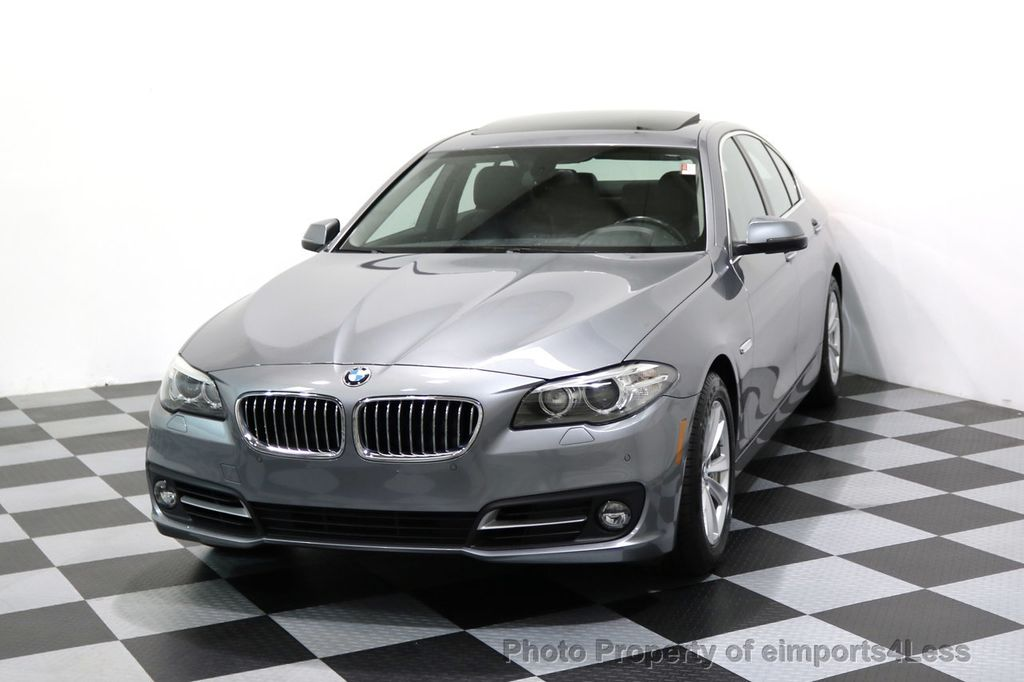 2015 BMW 5 Series CERTIFIED 528i xDRIVE AWD CAMERA NAVIGATION - 17570179 - 28