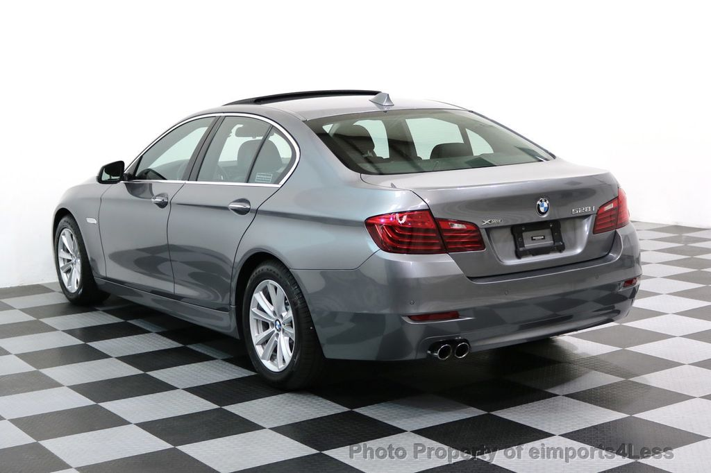 2015 BMW 5 Series CERTIFIED 528i xDRIVE AWD CAMERA NAVIGATION - 17570179 - 30