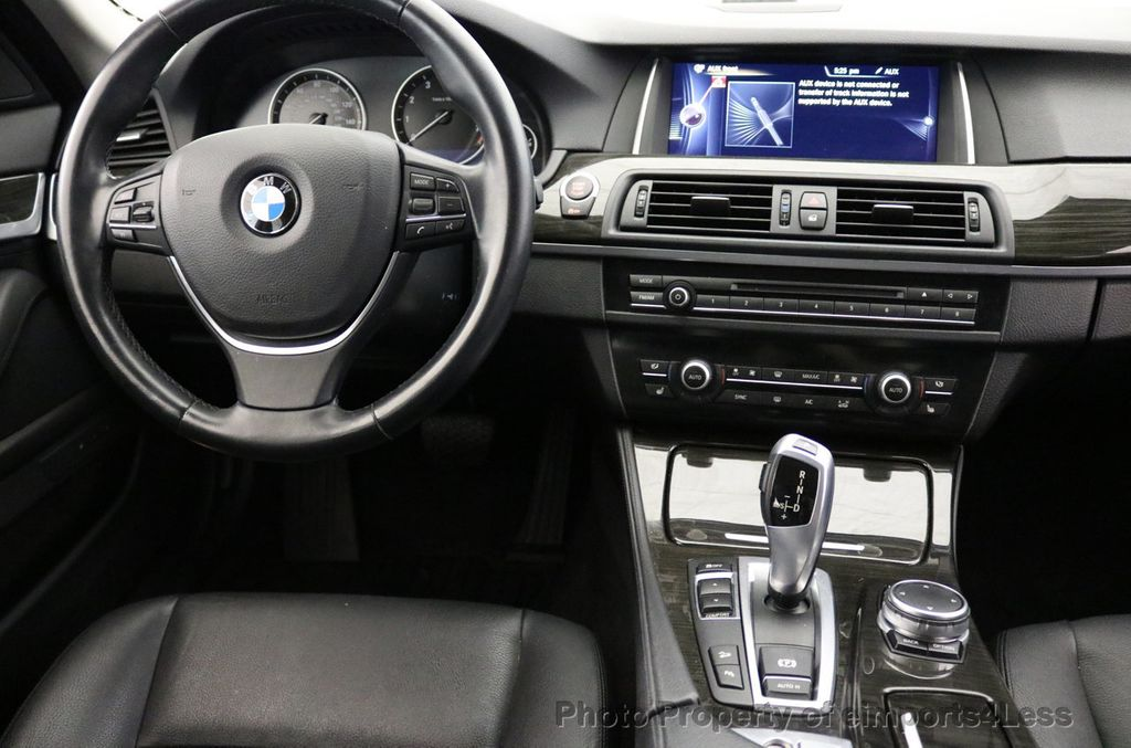 2015 BMW 5 Series CERTIFIED 528i xDRIVE AWD CAMERA NAVIGATION - 17570179 - 34