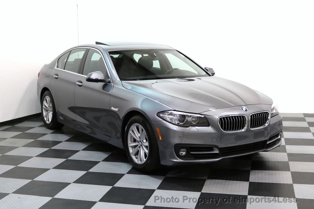 2015 BMW 5 Series CERTIFIED 528i xDRIVE AWD CAMERA NAVIGATION - 17570179 - 49