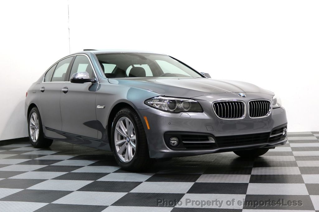 2015 BMW 5 Series CERTIFIED 528i xDRIVE AWD CAMERA NAVIGATION - 17570179 - 52