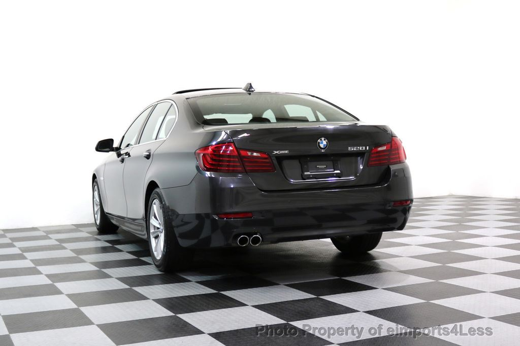 2015 BMW 5 Series CERTIFIED 528i xDRIVE AWD CAMERA NAVIGATION - 17581576 - 16
