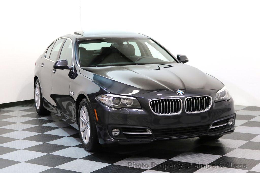 2015 BMW 5 Series CERTIFIED 528i xDRIVE AWD CAMERA NAVIGATION - 17581576 - 1