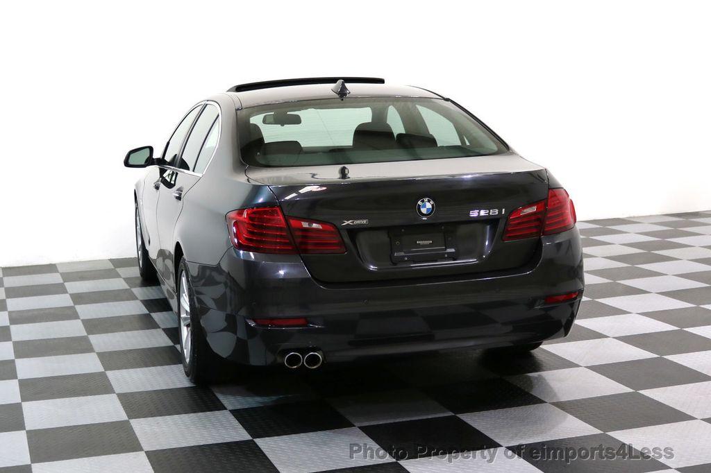 2015 BMW 5 Series CERTIFIED 528i xDRIVE AWD CAMERA NAVIGATION - 17581576 - 32