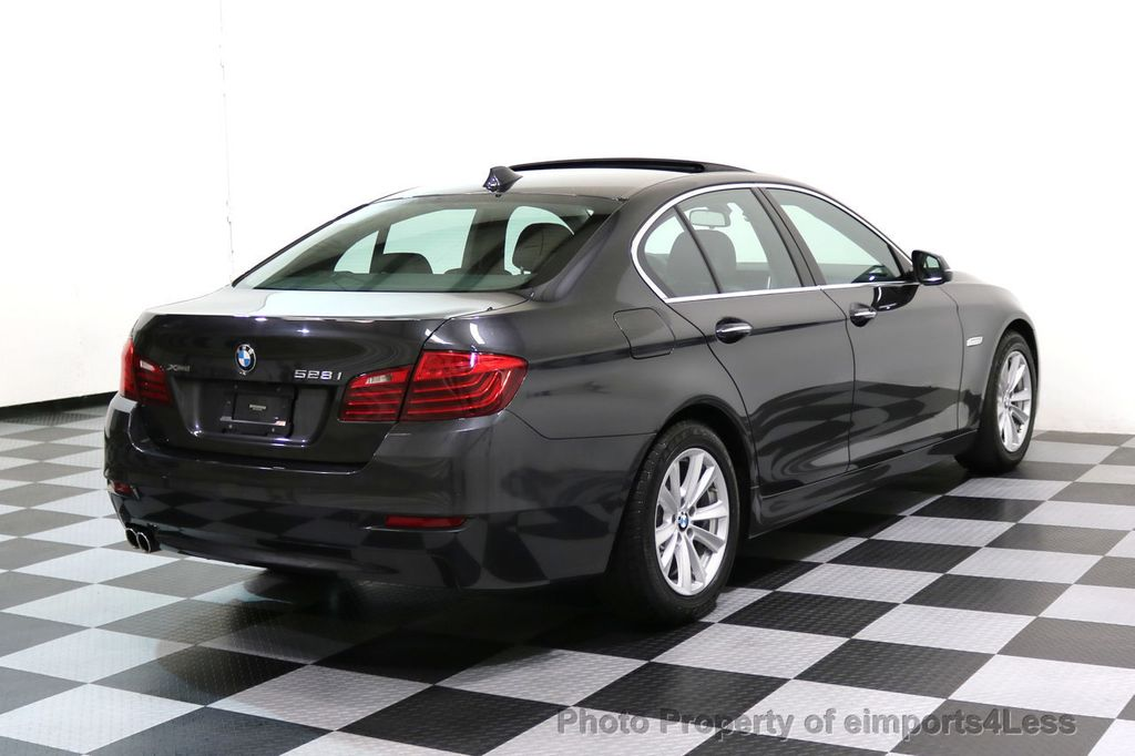 2015 BMW 5 Series CERTIFIED 528i xDRIVE AWD CAMERA NAVIGATION - 17581576 - 34