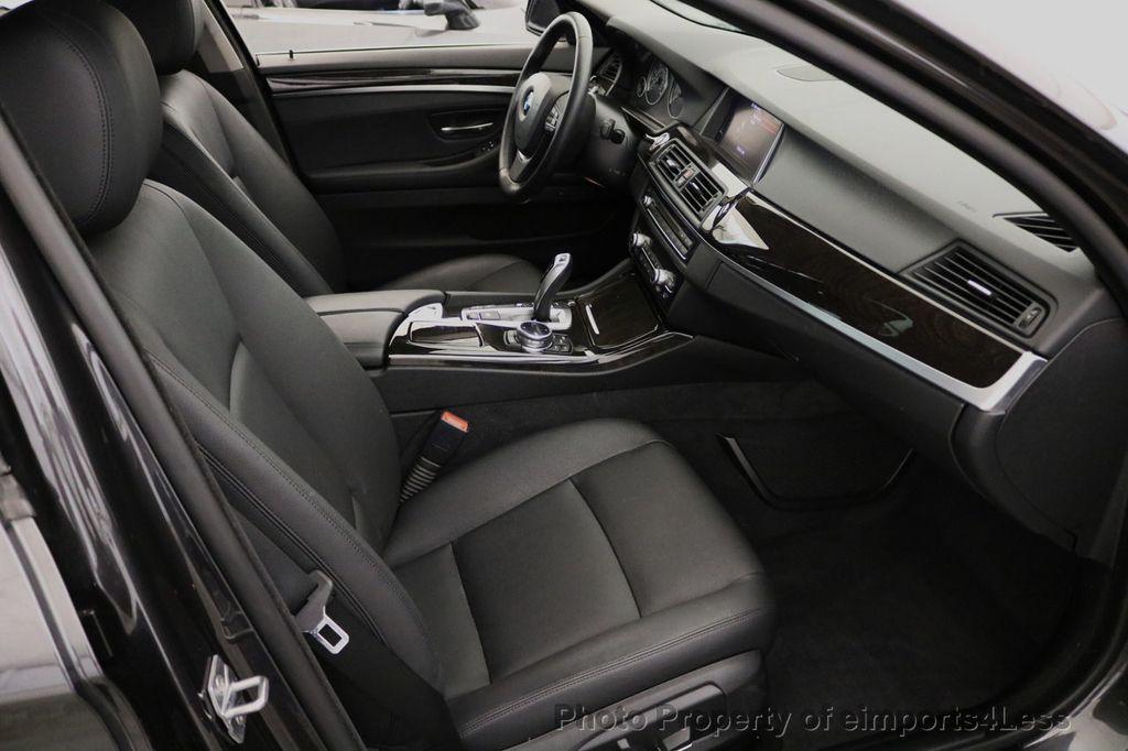 2015 BMW 5 Series CERTIFIED 528i xDRIVE AWD CAMERA NAVIGATION - 17581576 - 37