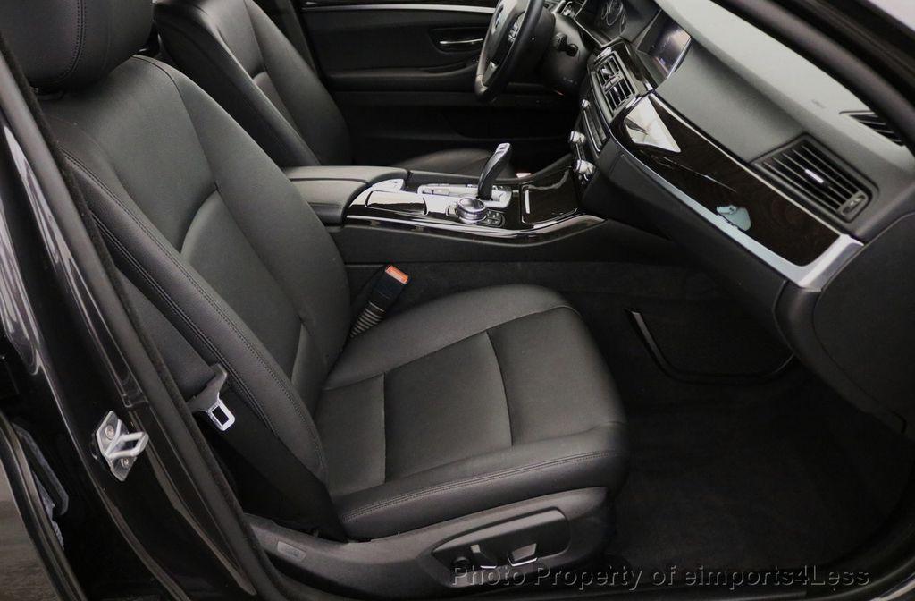 2015 BMW 5 Series CERTIFIED 528i xDRIVE AWD CAMERA NAVIGATION - 17581576 - 48