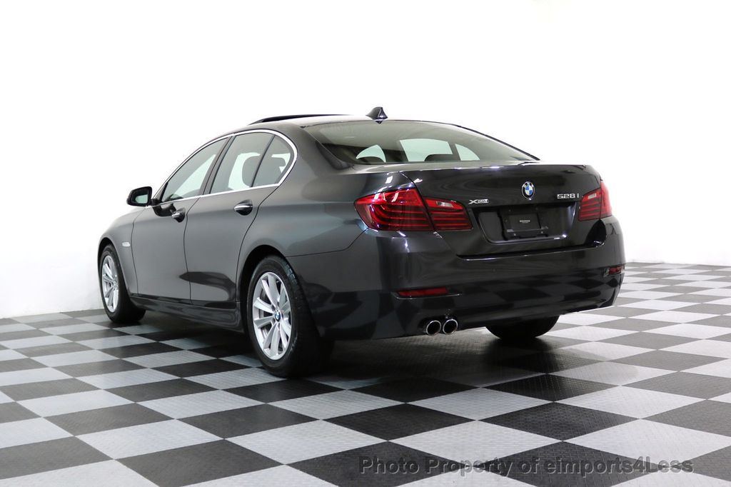2015 BMW 5 Series CERTIFIED 528i xDRIVE AWD CAMERA NAVIGATION - 17581576 - 54