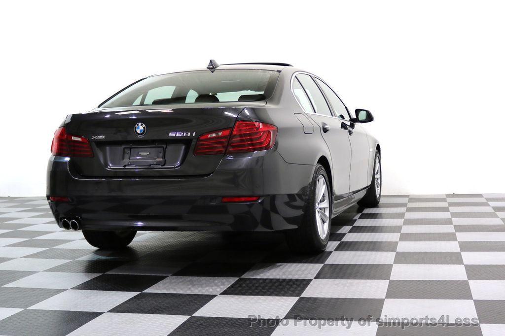 2015 BMW 5 Series CERTIFIED 528i xDRIVE AWD CAMERA NAVIGATION - 17581576 - 55