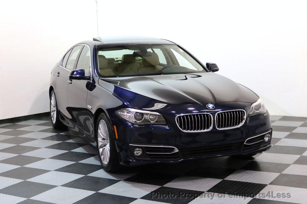 2015 BMW 5 Series CERTIFIED 528i xDRIVE Luxury Line AWD CAMERA NAVI - 17614343 - 1