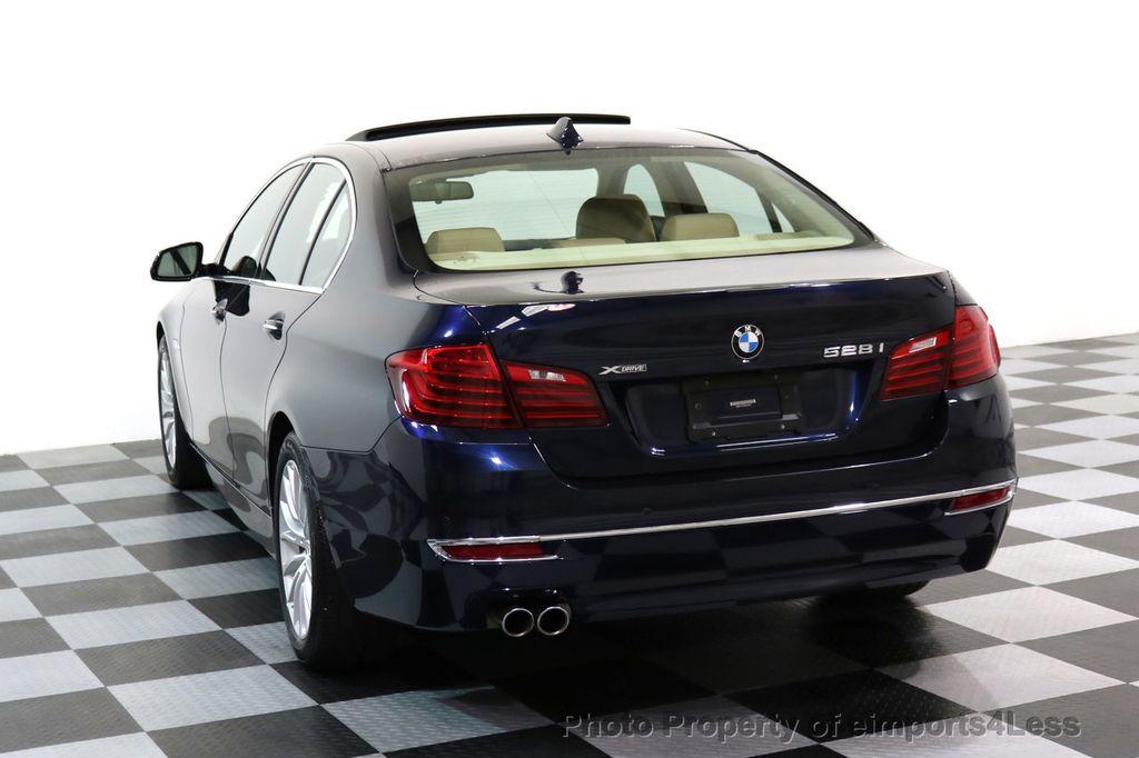 2015 BMW 5 Series CERTIFIED 528i xDRIVE Luxury Line AWD CAMERA NAVI - 17614343 - 30