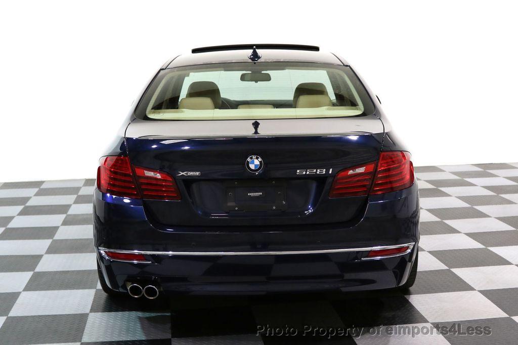 2015 BMW 5 Series CERTIFIED 528i xDRIVE Luxury Line AWD CAMERA NAVI - 17614343 - 31