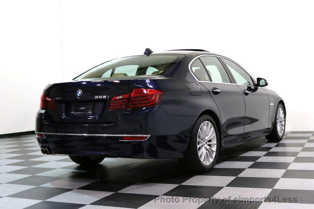 2015 BMW 5 Series CERTIFIED 528i xDRIVE Luxury Line AWD CAMERA NAVI - 17614343 - 52