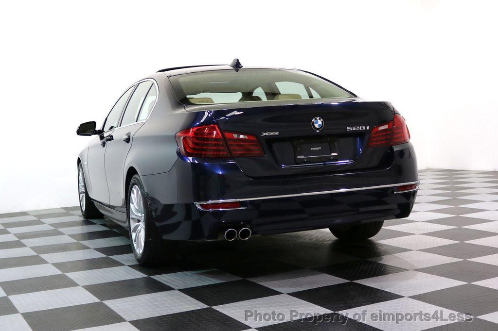2015 BMW 5 Series CERTIFIED 528i xDRIVE Luxury Line AWD CAMERA NAVI - 17614343 - 54