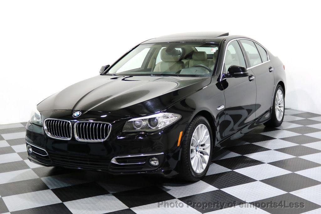 2015 BMW 5 Series CERTIFIED 528i xDRIVE Luxury Line AWD CAM HUD NAV - 17112030 - 0