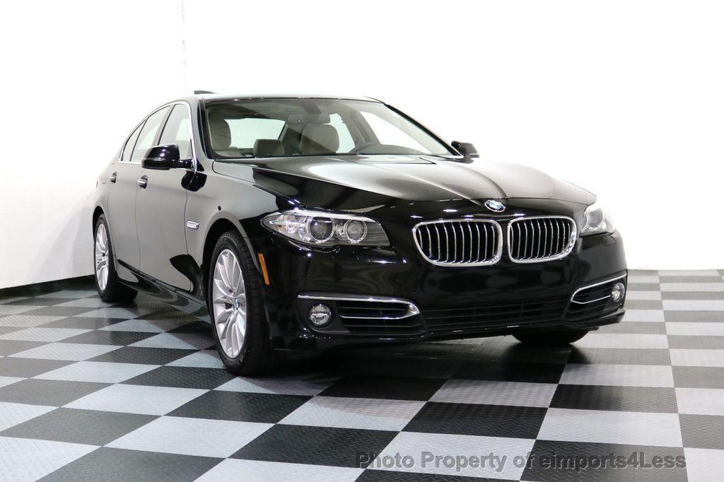2015 BMW 5 Series CERTIFIED 528i xDRIVE Luxury Line AWD CAM HUD NAV - 17112030 - 14