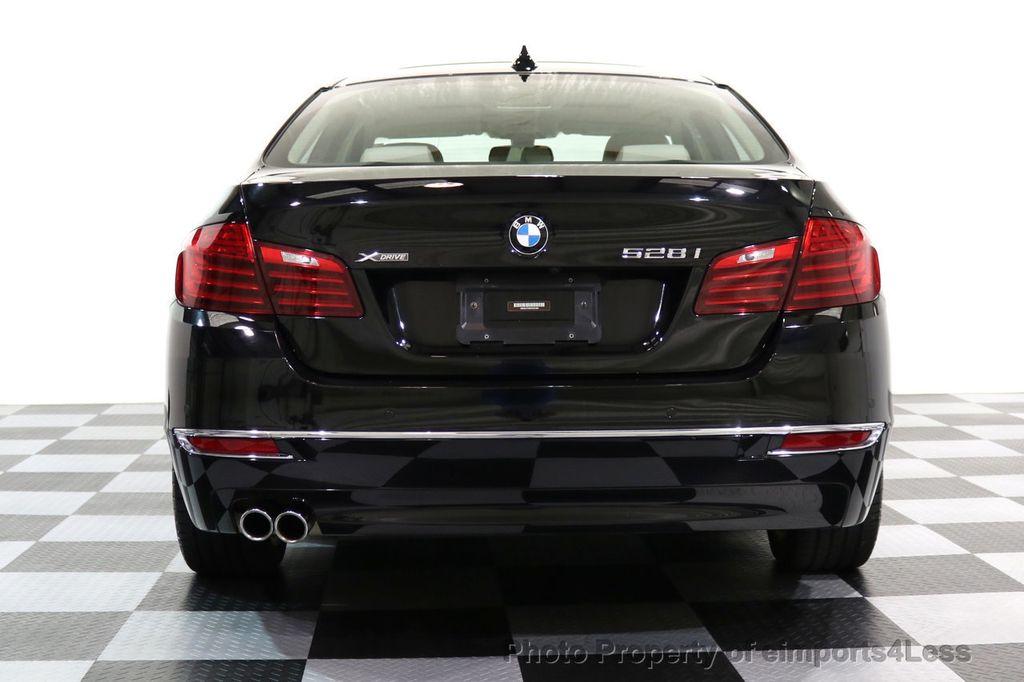 2015 BMW 5 Series CERTIFIED 528i xDRIVE Luxury Line AWD CAM HUD NAV - 17112030 - 16