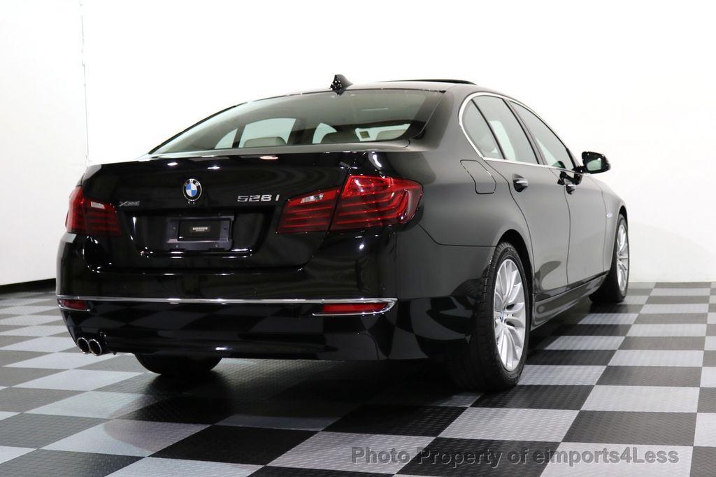 2015 BMW 5 Series CERTIFIED 528i xDRIVE Luxury Line AWD CAM HUD NAV - 17112030 - 17
