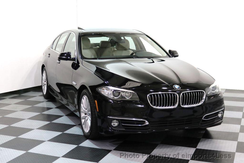 2015 BMW 5 Series CERTIFIED 528i xDRIVE Luxury Line AWD CAM HUD NAV - 17112030 - 1
