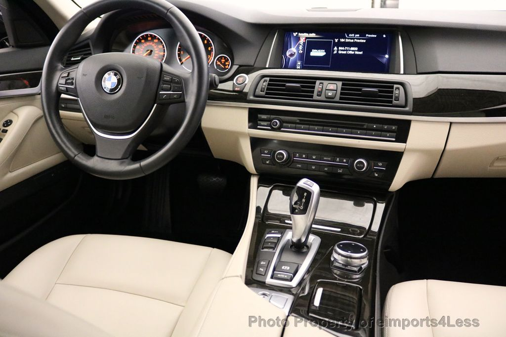 2015 BMW 5 Series CERTIFIED 528i xDRIVE Luxury Line AWD CAM HUD NAV - 17112030 - 23