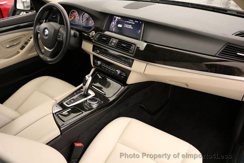 2015 BMW 5 Series CERTIFIED 528i xDRIVE Luxury Line AWD CAM HUD NAV - 17112030 - 24