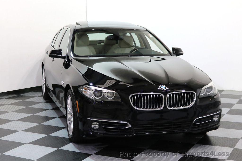 2015 BMW 5 Series CERTIFIED 528i xDRIVE Luxury Line AWD CAM HUD NAV - 17112030 - 30