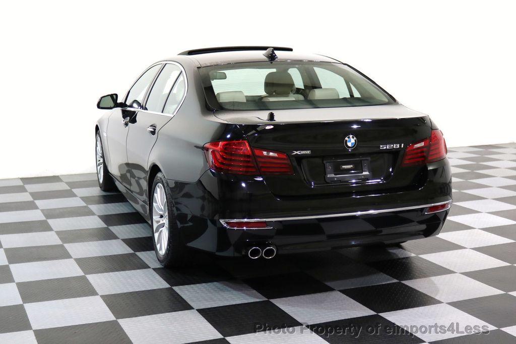2015 BMW 5 Series CERTIFIED 528i xDRIVE Luxury Line AWD CAM HUD NAV - 17112030 - 31