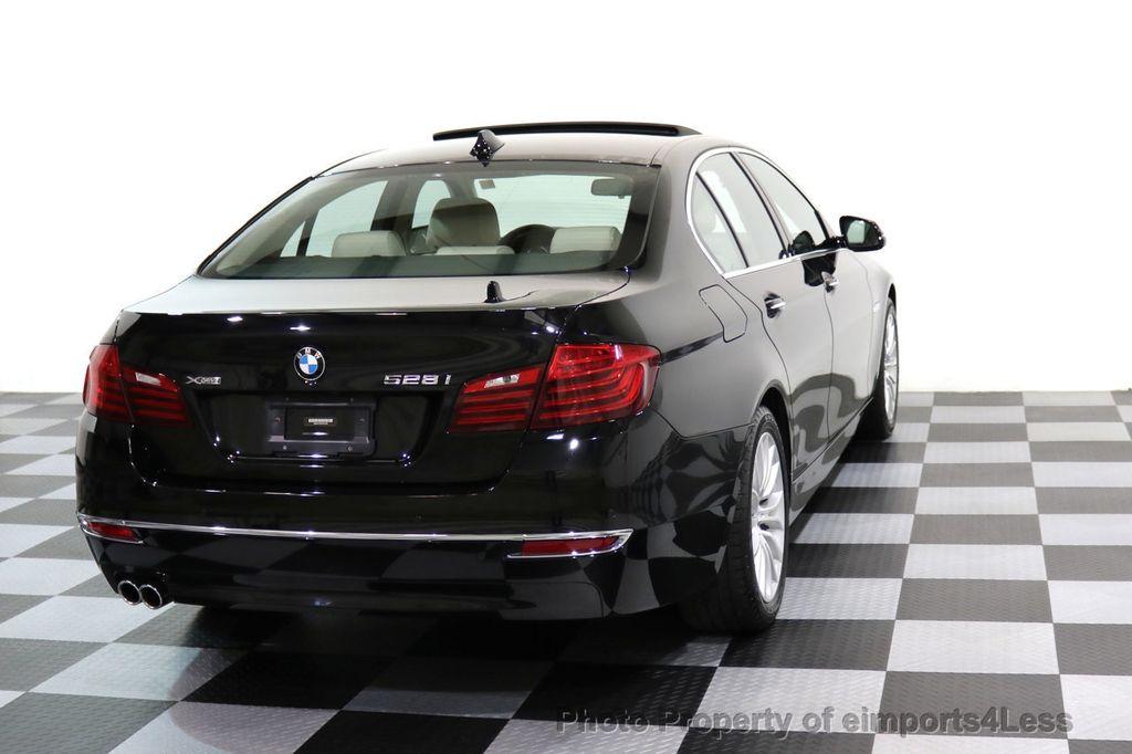 2015 BMW 5 Series CERTIFIED 528i xDRIVE Luxury Line AWD CAM HUD NAV - 17112030 - 33