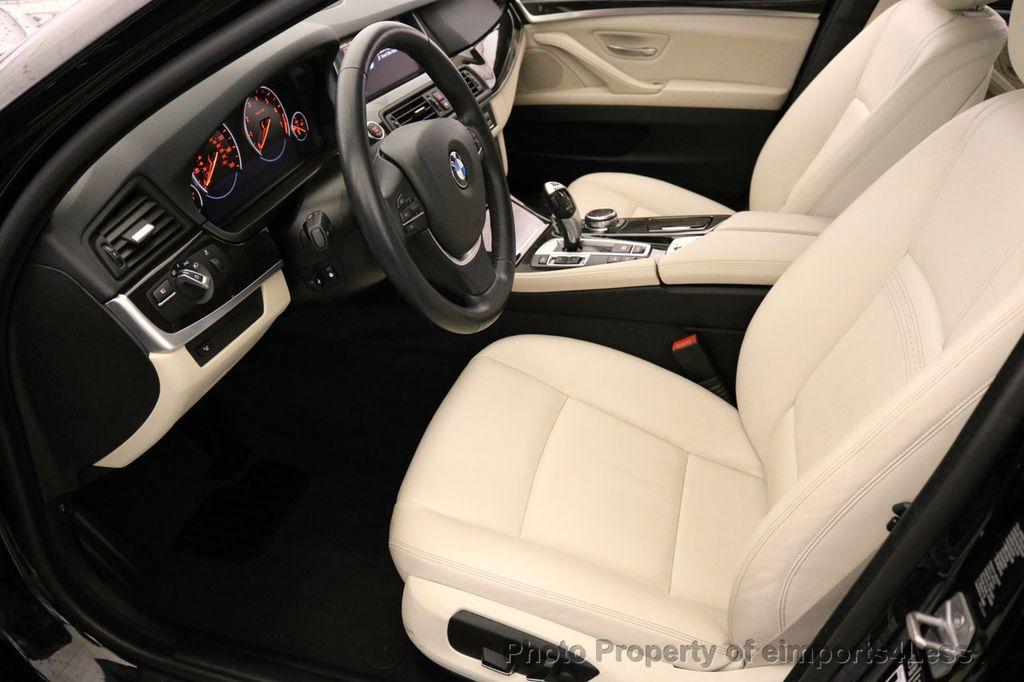 2015 BMW 5 Series CERTIFIED 528i xDRIVE Luxury Line AWD CAM HUD NAV - 17112030 - 34