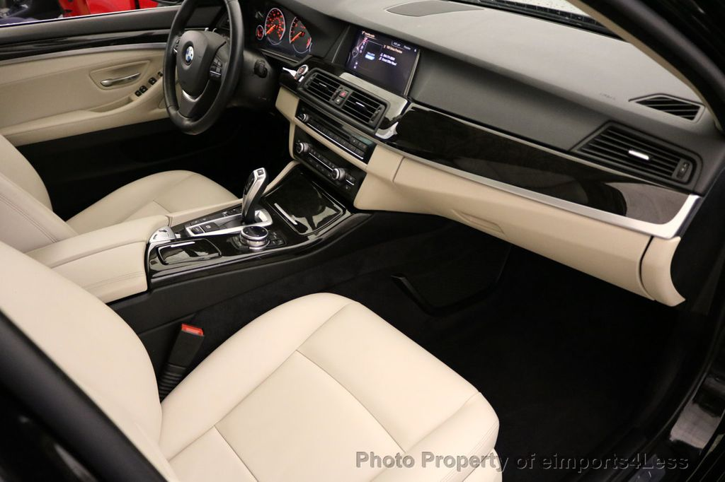 2015 BMW 5 Series CERTIFIED 528i xDRIVE Luxury Line AWD CAM HUD NAV - 17112030 - 35