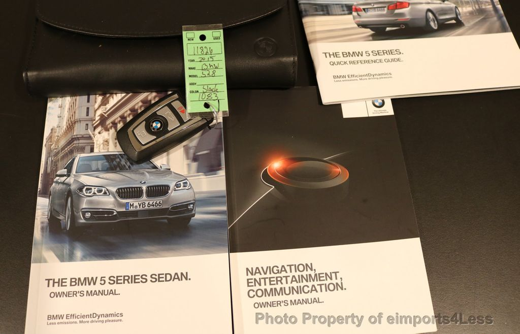 2015 BMW 5 Series CERTIFIED 528i xDRIVE Luxury Line AWD CAM HUD NAV - 17112030 - 43