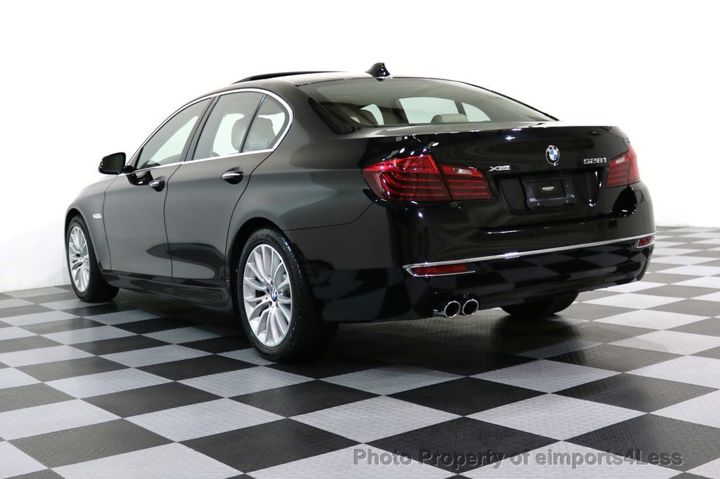 2015 BMW 5 Series CERTIFIED 528i xDRIVE Luxury Line AWD CAM HUD NAV - 17112030 - 48